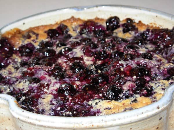 Blueberry Cobbler: An Independence Day Treat!