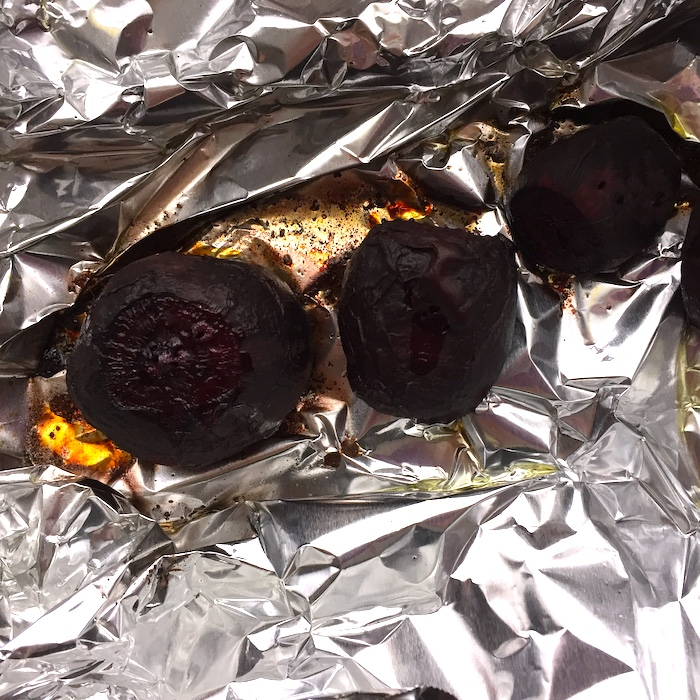 This is how to roast beets. Well, one way.