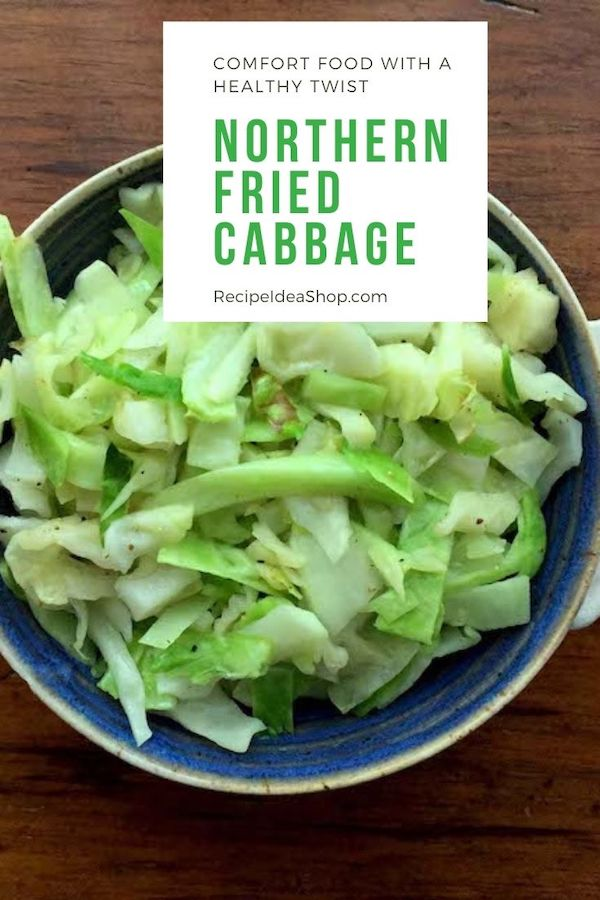Simple sautéed Northern Fried Cabbage. Fights inflammation. And it's tasty. #northernfriedcabbage #inflammationfighter #nomorepain #cabbage #recipes #glutenfree #sugarfree #comfortfood #recipeideashop