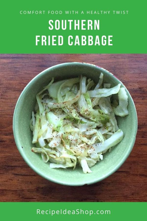 What's the secret ingredient in most Southern recipes? It makes this Southern Fried Cabbage so tasty. #southernfriedcabbage #friedcabbagerecipe #southerncabbagerecipe #sautéedSoutherncabbage