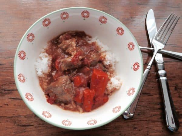 Pakistani Lamb-Vegetable Curry