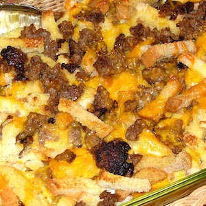Sausage Egg Casserole (Brunch or Breakfast)