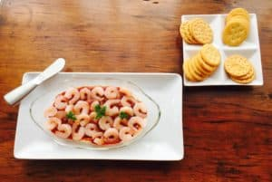 Shrimp with Cream Cheese Appetizer