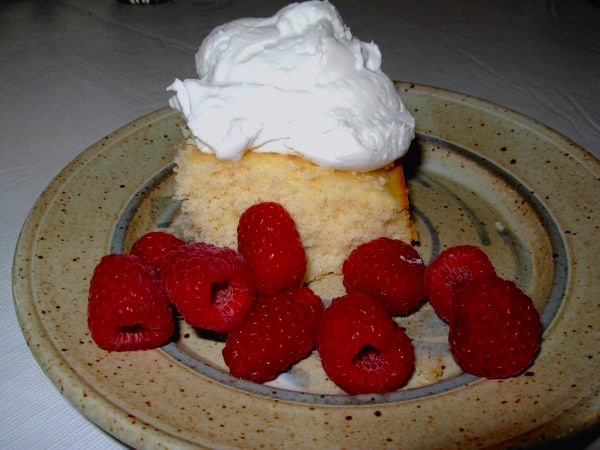 Coconut Whipped Cream. It's non-dairy.