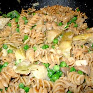 Mushroom Artichoke Pasta Marsala
