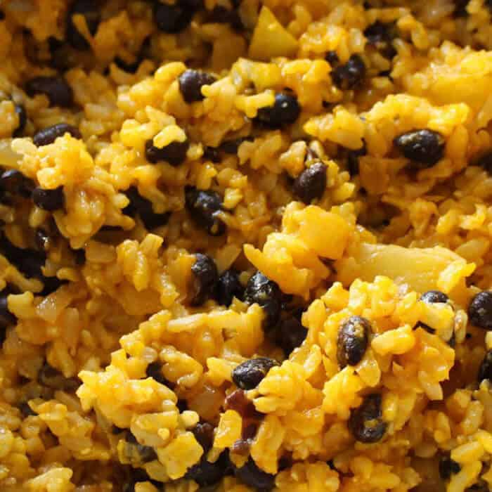 Yellow Rice And Beans Recipe Idea Shop