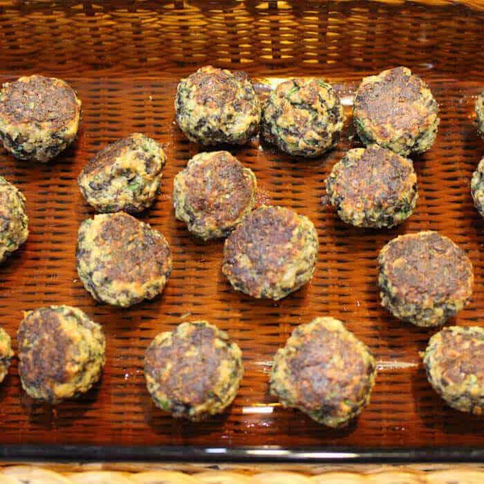 Mushroom Meatballs (Vegetarian)