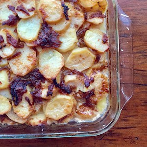 Caramelized Scalloped Potatoes
