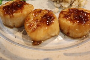 Scallops With Ginger Lime Marinade