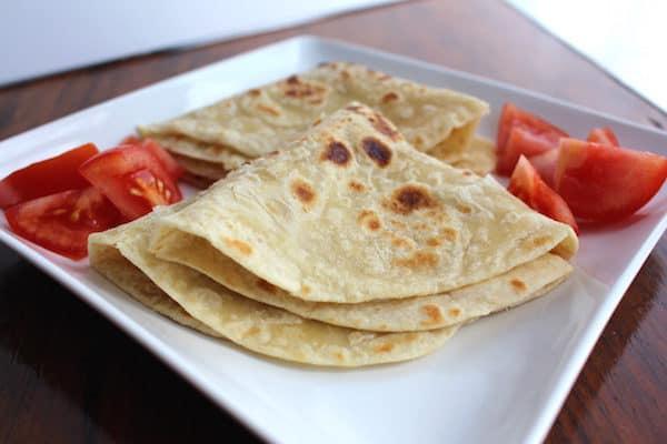 Chapati, an African flatbread