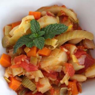 French Vegetable Stew (Vegan)