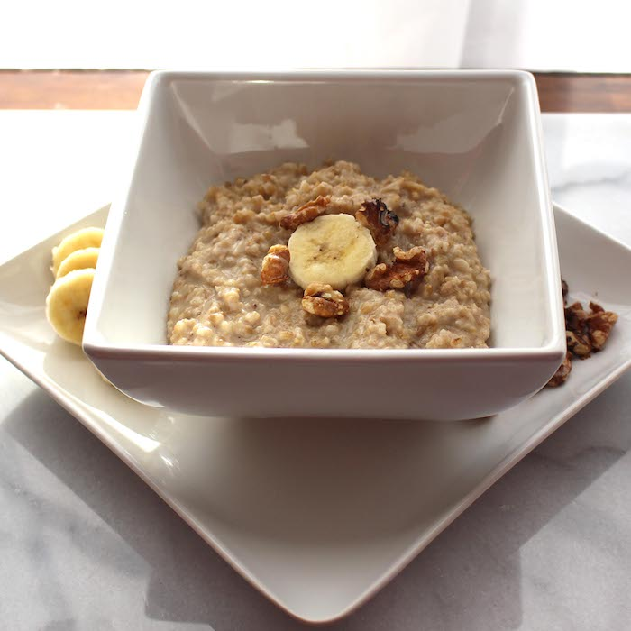 Steel Cut Oats are deliciously chewy.