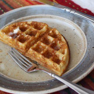 Light Fluffy Gluten Free Waffles
