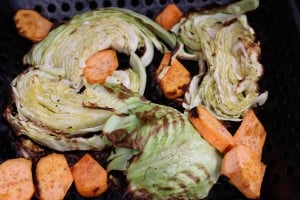Grilled Cabbage and Carrots