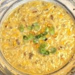 Roasted Corn Chowder. Awesome soup. Vegan and gluten free. #Cornchowder, #RoastedCornChowder, #recipeideashop
