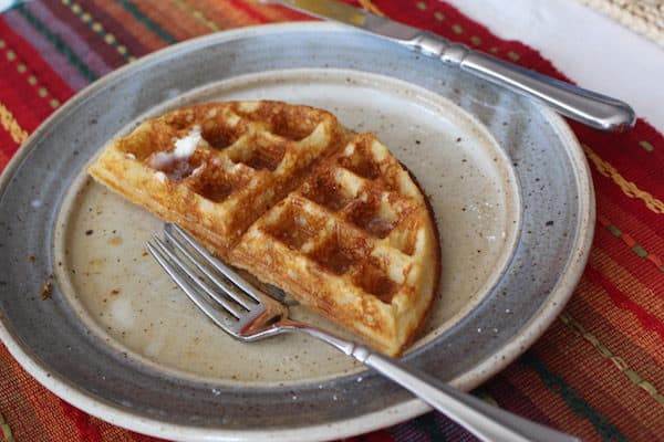 Delicious, Light Fluffy Gluten Free Waffles. These are so good, no one will be able to tell they are gluten free.