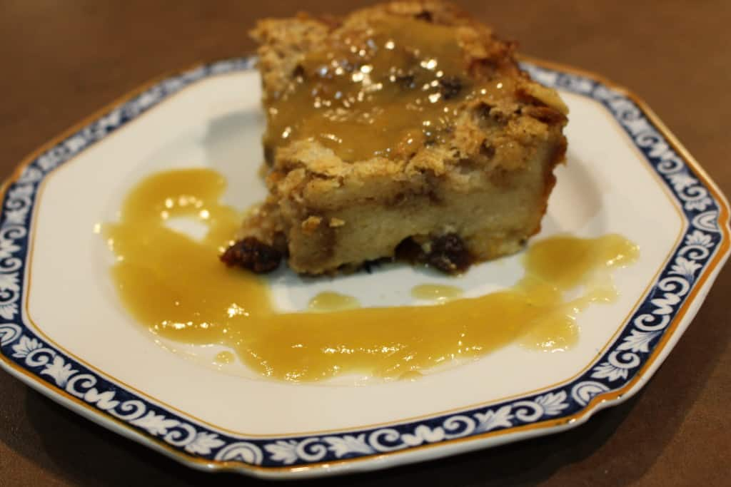Favorite Bread And Butter Pudding With Bourbon Sauce ...