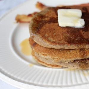 Buckwheat pancakes (naturally gluten free)