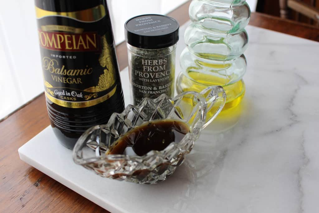 how to make balsamic dressing