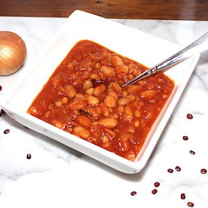 Crockpot Maple Baked Beans