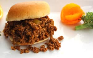 Sloppy Joes: Great as slider appetizers, a quick supper or for a party.