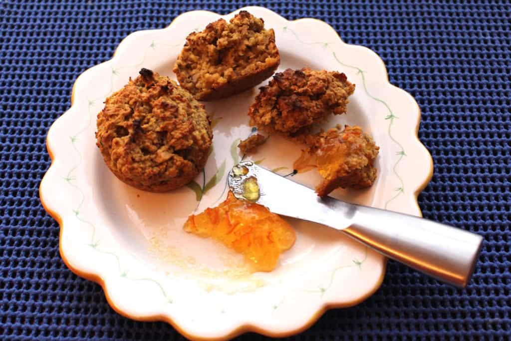 Gluten Free Pumpkin (or Squash) Muffin.