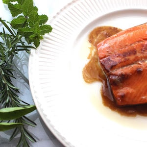 Sweet Bourbon Salmon. You're gonna love it.