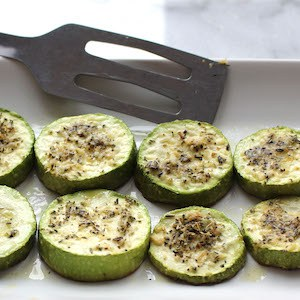 Grilled Italian Zucchini with Parmesan
