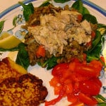 Lentil, Lemon and Tuna Salad