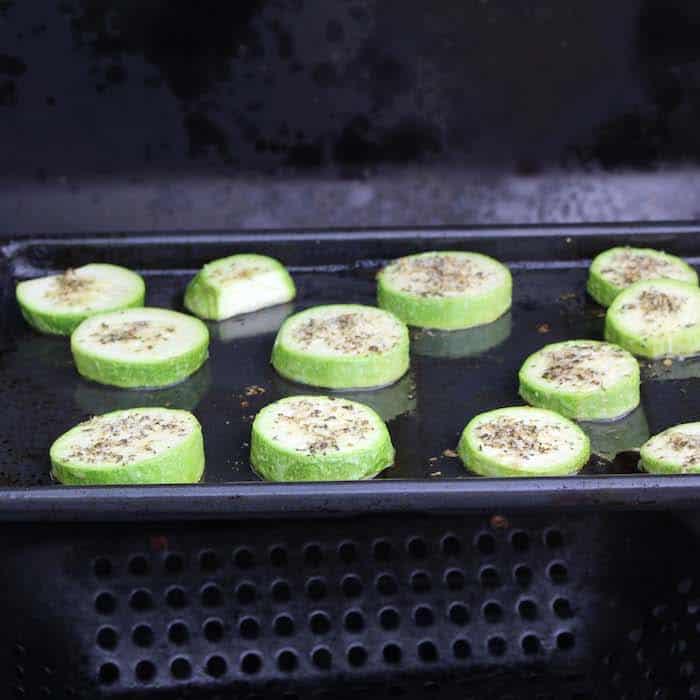 Grilling Grilled Italian Zucchini