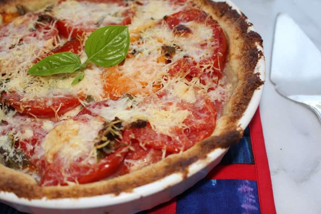 Gluten Free Tomato Pie. Tastes like summer.