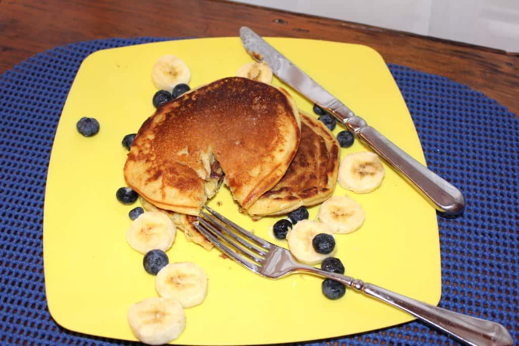 Gluten Free Buttermilk Pancakes.