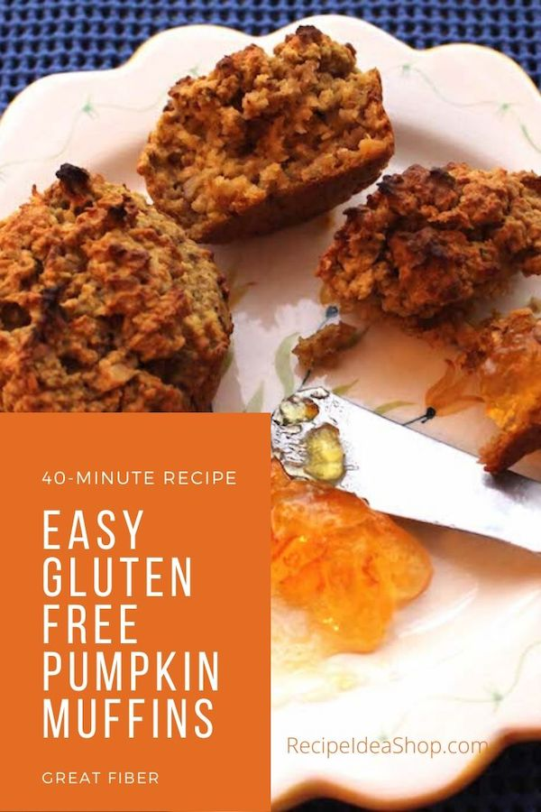 Pumpkin Muffins? Yes please. Anytime. #glutenfreepumpkinmuffins #pumpkinmuffin #muffins #glutenfree #recipes #comfortfood #recipeideashop