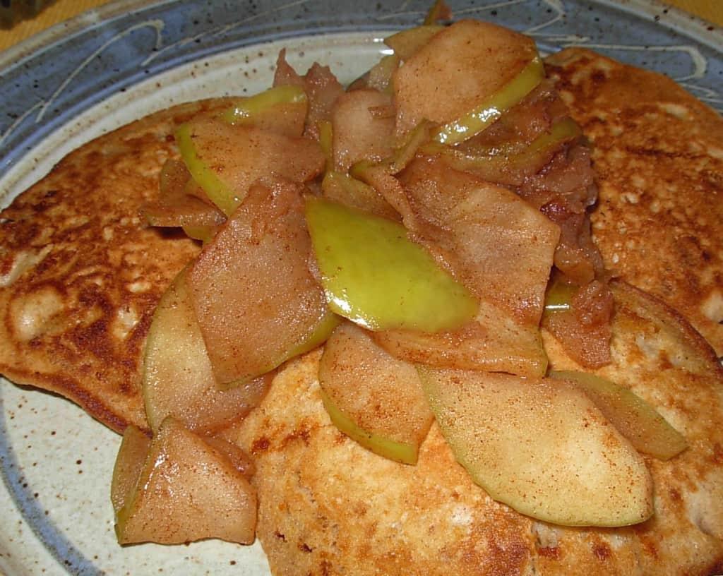 Sautéed (or Fried) Apples. Love on a plate.
