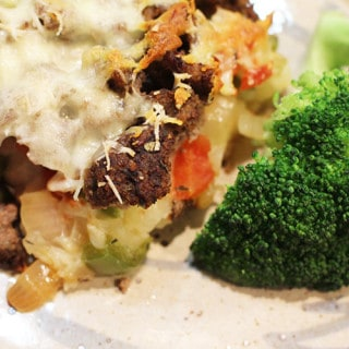 Hamburger Potato Lasagna
