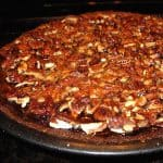 Molasses Pumpkin Pecan Ginger Pie