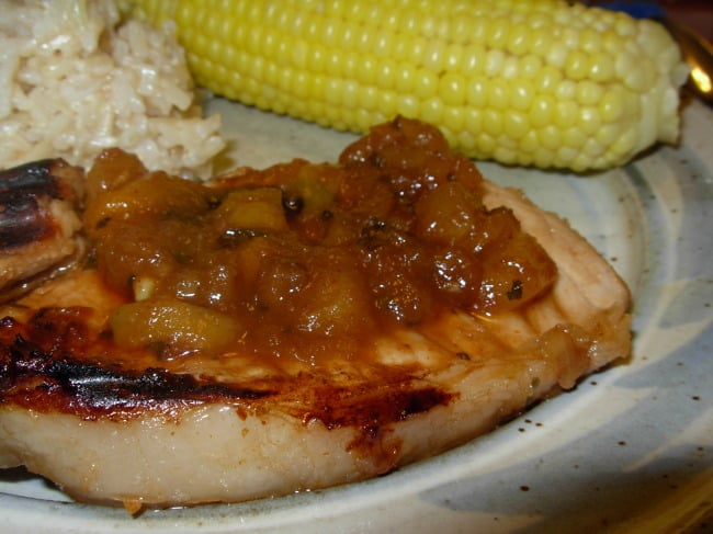 Sweet and Savory Grilled Pork Chops