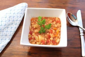 Vegan White Bean and Barley Stew