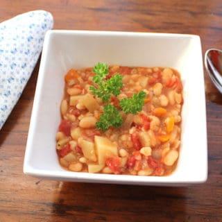 White Bean and Barley Stew