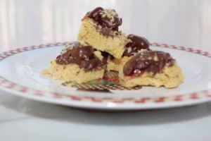Chocolate Cherry Squares