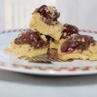 Chocolate Cherry Squares