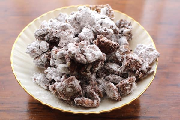 Puppy Chow Chocolate Peanut Butter Cookies (Gluten Free).