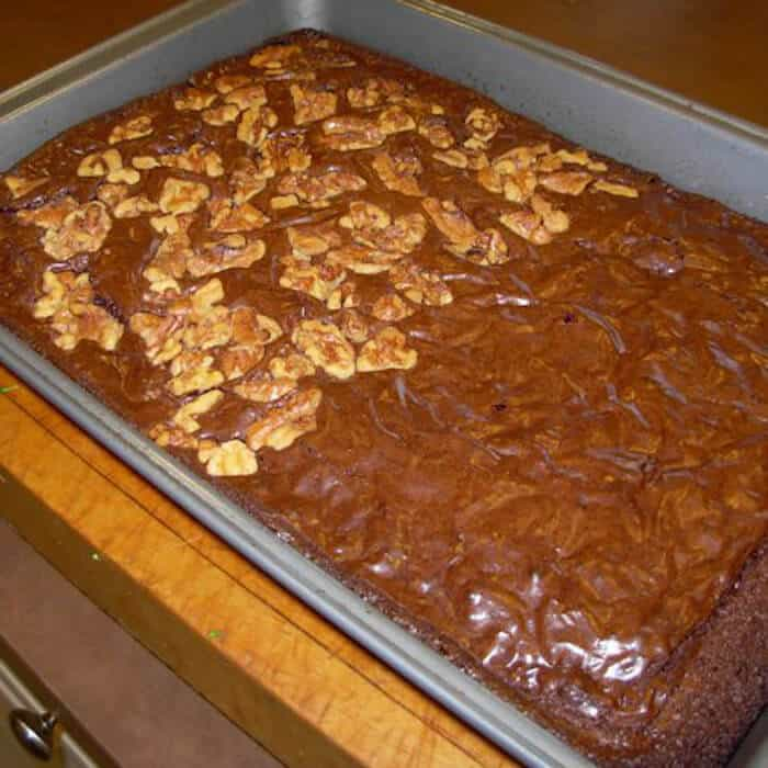 My Favorite Chocolate Brownies are moist, crispy on the outside, and packed with chocolate.