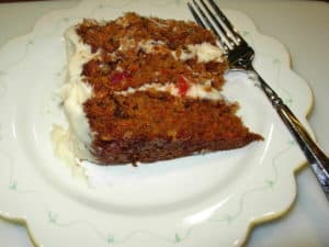 The Best Carrot Cake (Gluten Free)