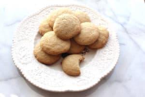 Gluten Free Danish Sugar Cookies