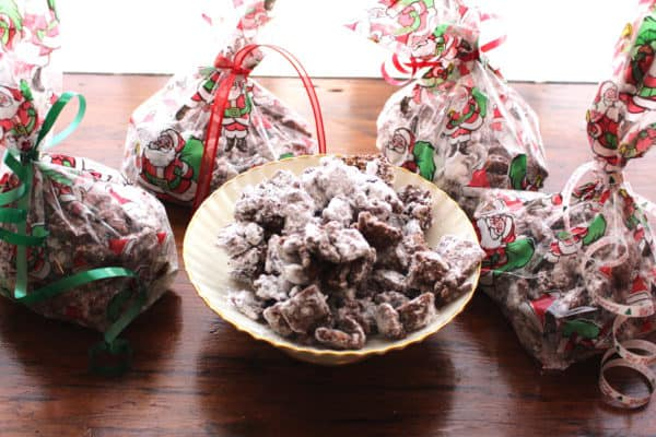 Puppy Chow makes a good gift.