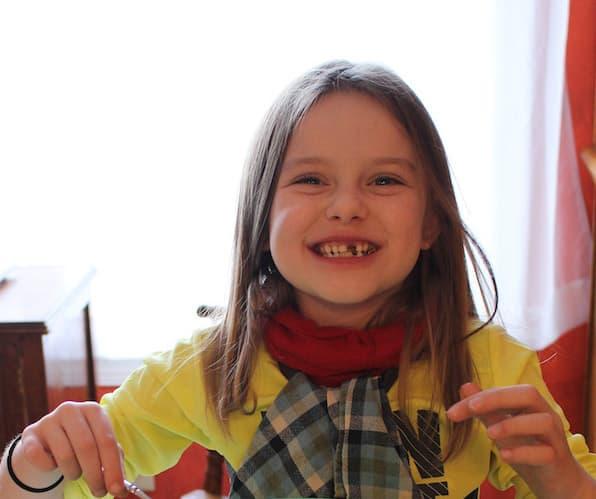 "Eating Chocolate Elvis Cookies. ""Both kinds of [Elvis] Cookies are really good, Mima!"""