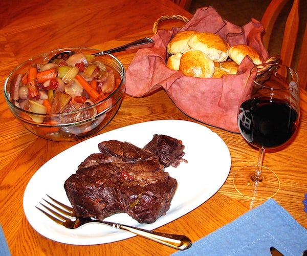 Don's Pot Roast, simple farm fare, comforting and filling.