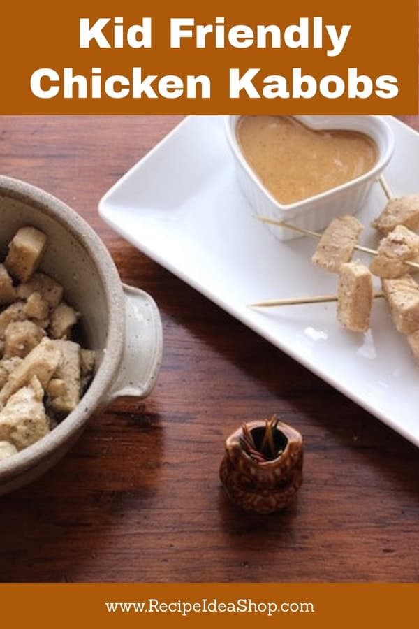 What's better than mouse on a stick? Chicken Kabobs! #chickenkabobs; #chickennuggets; #chicken; #chickenrecipes; #recipes; #recipeideashop