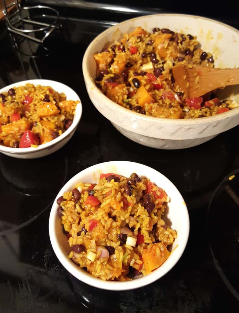Caribbean Rice Salad. Flavorful. Quick. Easy. Photo courtesy of Apryl Donovan.
